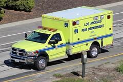 LAFD (So Cal Metro) Tags: rescue la losangeles lafd ambulance dodge ram paramedic ems emt losangelesfire