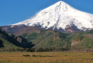 Parque nacional Lanin,volcan homonimo,patagonia Argentina