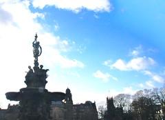 Ross Fountain (NikWatt) Tags: scotland edinburgh sony statues sigma handheld fountains rossfountain greatcolors greatscots edinburghphotographers nikwatt windowslivephoto sonya580