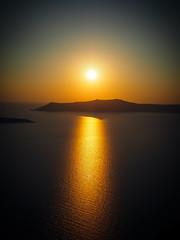 Pre-Valentine (Hera | Elfeli Vynch) Tags: sunset sea sky greece santoriniisland