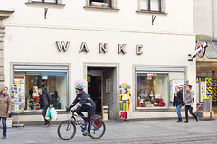 The rudest store in town (alan13ryan) Tags: linz name rude tabac wanke landstr