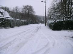 Sneeuw in mijn straat (h.vandamme) Tags: h van damme