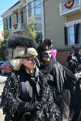 Socit de Ste. Anne 115 (Omunene) Tags: costumes party fun neworleans parade alcohol mardigras partytime faubourgmarigny licentiousness neworleansmardigras walkingparade socitdesteanne mardigras2016 alcoholfueledlicentiousness roylstreet
