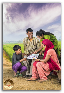 A perfect happy rural family photo-shoot!