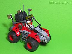Baha Rescue Rover 1 (Bricksky) Tags: rescue race lego space rover vehicle baha moc bricksky febrovery
