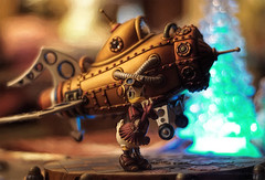 Going After Killer Kane (Light Echoes) Tags: winter sony january disney retro rocket buckrogers donaldduck waltdisney steampunk daisyduck 2016 a6000