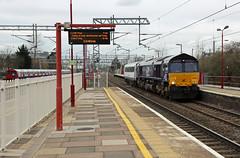 66426, 82127 HRW Crewe - NC transfer 8-3-16 (6089Gardener) Tags: dvt class66 drs wcml harrowandwealdstone 66426 82127