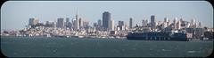 SF Bay Tanker (Norscout) Tags: ocean sf sanfrancisco sunset pacific marin pacificocean goldengatebridge goldengate headlands sanfran