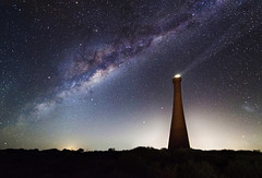 Milky Way over the Guilderton Lighthouse - Western Australia (inefekt69) Tags: longexposure nightphotography sky panorama cloud lighthouse rural way stars ancient nikon outdoor space australia explore southern galaxy astrophotography astronomy dslr 16mm milky stitched cosmos westernaustralia core cosmology milkyway southernhemisphere guilderton mooreriver magellanic ptgui explored largemagellaniccloud greatrift d5100