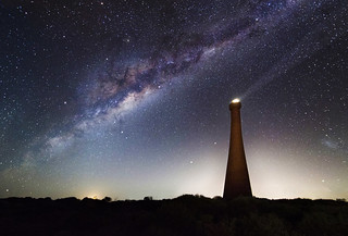 Milky Way over the Guilderton Lighthouse - Western Australia