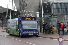 Go Goodwins 14 (Luke Bowman's photography) Tags: goodwins manchester 14 go solo salford quays lowry cbt coaches wez optare 9165 mediacityuk m920 v313