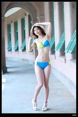 nEO_IMG_DP1U0230 (c0466art) Tags: light summer portrait girl beautiful female canon colorful asia pretty sweet outdoor taiwan showgirl bikini charming 1dx c0466art