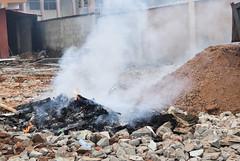 BURNING TYRES. Solomade, Ikorodu, 2015. (cadi.cliff) Tags: africa city travel west fire state streetphotography photojournalism lagos burning pollution westafrica nigeria waste activism socialchange ikorodu youthdrivenchange