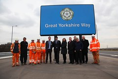 IMG_2201 Part of Carillions Work Force & Management Who Helped Build The Great Yorkshire Way (Lee Collings Photography) Tags: people workers construction uniform management carillion doncaster southyorkshire newroad meninuniform farrrs thegreatyorkshireway