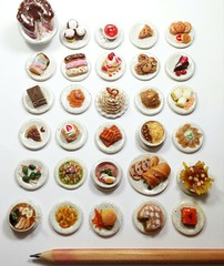 30 Days of my Daily Miniature Food Challenge, featuring food from all around the world, Handmade with polymer clay, scale 1:12 #miniaturefood #crafts #polymerclay #food #fauxfood #fastfood #foodfromaroundtheworld #art #artistic #andisacharms (andisacharms) Tags: food art artistic crafts fastfood polymerclay miniaturefood fauxfood foodfromaroundtheworld andisacharms