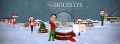 Wayne Bank Holiday Cover Photo (Justin Roach Work Stuff) Tags: winter holiday advertising design graphicdesign bank batman scranton nepa brucewayne honesdale 570 waynebank