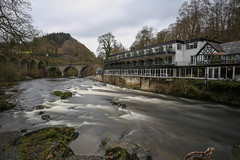 Chainbridge Hotel (juliereynoldsphotography) Tags: longexposure wales river landscape hotel chainbridge juliereynolds