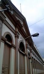 Ascensin Esquivel Ibarra elementary school, one of the main schools of the city of Cartago (vantcj1) Tags: arquitectura poste edificio cielo nubes cableado patrimonio neoclsico