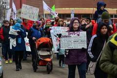 International Women's Day Rally and March 2016 (Vegan Butterfly) Tags: world city people urban signs march justice women day edmonton rally oppression social womens event international human rights violence feminism activism feminist activist sexism misogyny