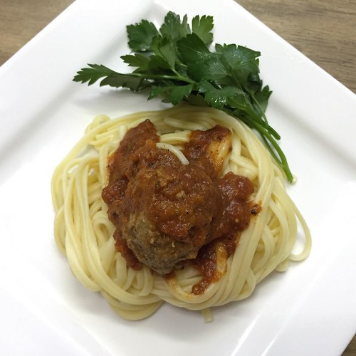 #spaghettiandmeatballs #photooftheday #food #yum #yummy
