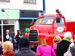 Bedford (sam2cents) Tags: red truck bedford machine parade lorry fireengine stpatrick manufacturing