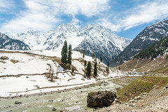 Sonmarg Valley (R. Karthik) Tags: india mountain snow beautiful river kashmir himalayas incredibleindia sonmarg