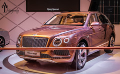 Bentayga! (ATFotografy) Tags: uk england lines car canon silver eos golden jeep 4x4 5 spoke indoor front grill made chrome round end vehicle british sev dslr rim suv powerful luxury fastest bentley bentayga meshed 600d excs atfotografy