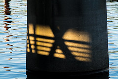 Extra Strange. (Omygodtom) Tags: shadow abstract art nature strange river outdoors nikon x diamond differant d7100 nikon70300mmvrlens