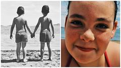 (NoelUroz) Tags: portrait beach boys girl childhood playa nia infancia