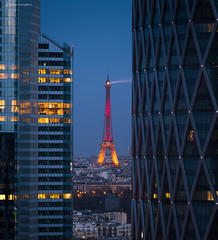 Paris (Julianoz Photographies) Tags: world light paris france architecture buildings europe ledefrance cityscape belgique eiffeltower libert toureiffel hommage idf immeuble lemonde the fraternit egalit tourfirst vivelapaix tamronsp70200f28divcusd nikond610 julianozphotographies atentats