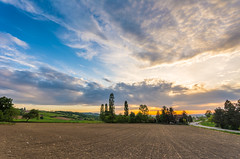 Razbojiste (milosb014) Tags: sunset sky clouds landscape countryside outdoor serbia sigma 1020 mionica