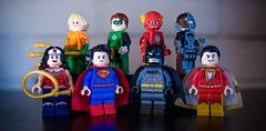 [Lego DC] The Justice League (New 52) (Jonathan Wong Photography) Tags: new comics justice dc lego superheroes custom league 52 minifigures