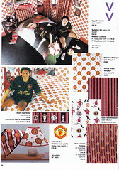 Manchester United - Official Merchandise Catalogue - 1994 - Page 30 (The Sky Strikers) Tags: old red classic manchester souvenirs official united fred merchandise 1994 collectors trafford catalogue the leisurewear