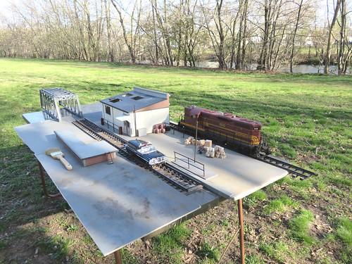 SETUP SHOT - Hi Rail Inspection Vehicle