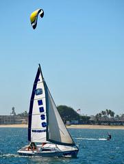 DSC_1097 (Eleu Tabares) Tags: ocean sea kite water sailboat sailing surfing sail