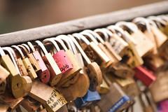 Pont des Arts (lidiagor) Tags: paris love puente amor padlock candados