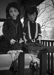 Black and white (Xiaoli2004) Tags: momo bjd jea 5yo dollstown