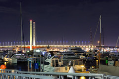 Bolte Bridge, d'Albora Marinas Victoria Harbour - Docklands (Bacoon) Tags: longexposure night marina nightlights australia melbourne victoria docklands 3008 victoriaharbour boltebridge nightimage cityofmelbourne dalbora dalboramarinasvictoriaharbour 28cumberlandstreet