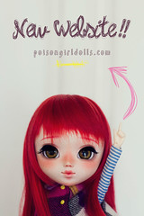 New web!! (-Poison Girl-) Tags: new red white green girl mouth hair nose carved eyes doll long dolls eyelashes body web coat abril carving lips cm full redhead planning website jp wig april groove medium pullip freckles poison custom 27 wavy pullips eyebrows jun poisongirl customs har poring realistic customize customization pecas 2016 obitsu eyechips junplanning suiseiseki souseiseki pullipcustom sbhm customizer poisongirlsdolls poisongirldolls