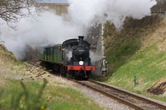 LSWR M7 class 0-4-4 (Kingfisher1951 David Ward) Tags: steamlocomotives swanagerailway lswrm7class no30053 springgala2016