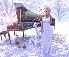 In my dreams (RoxxyPink) Tags: pink fashion mandala sl secondlife e majestic hc anybody puki roxxy maitreya slink meshhead lemorte meshbody ryca glamaffair fashionuschies roxxypink