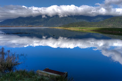 Grant Narrows Regional Park (hamiltron3000) Tags: canada reflection clouds landscape britishcolumbia pittlake pittmeadows grantnarrowsregionalpark sonya7