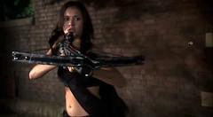 SEXY Nina (A Gun & A Girl.) Tags: girls muscles blood arms guns hotgirls sexygirls girlswithguns shootingguns gettingshot gunshotwounds hotguns girlsshootingguns girlsgettingshotwithaguns