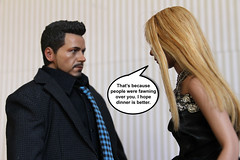 Clash of the Wizards 4.3 (ShellyS) Tags: ironman actionfigures tonystark hottoys pepperpotts