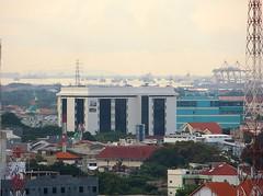 Madura Strait (Detta Priyandika) Tags: skyline indonesia skyscrapers jawa surabaya