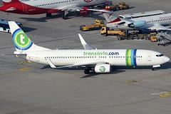 Transavia Airlines Boeing 737-8K2 PH-HSE (c/n 39259) (FNF_VIENNA - Vienna-Aviation.net) Tags: vienna wien airport boeing flughafen transavia vie 737800 schwechat loww 738 b738 phreg phhse