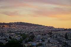 California sunset (downclimb) Tags: sanfrancisco california sunset places glenpark conditions