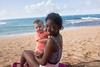 Nev and Sofi (Mark Griffith) Tags: vacation beach hawaii springbreak kauai haena sonyrx1m2 20160414dsc04722