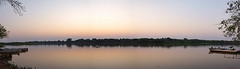 Amanhecer no Rio Cuiab (Fandrade) Tags: nature water brasil river dawn agua natureza panoramic panoramica amanhecer matogrosso pantanal wetland riocuiab portojofre rivercuiab