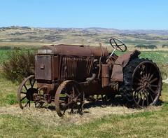 Retired McCormick Deering (Madam48) Tags: rusting tractors mccormickdeering
